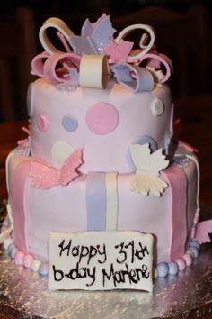 For a special friend on her b-day Cake Creations, Baking, Happy, Desserts, Food, Tailgate Desserts, Deserts, Bakken, Essen