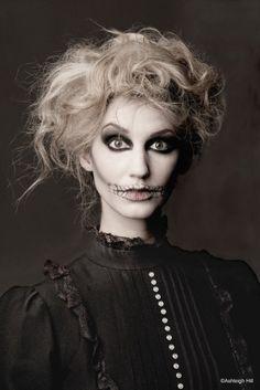 skeleton makeup   LunaBella Makeup & Hair