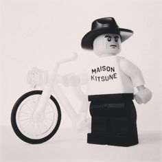 #maisonkitsune meets #lego I want it !