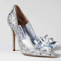 designer shoes - Jimmy Choo's Cinderella Shoes
