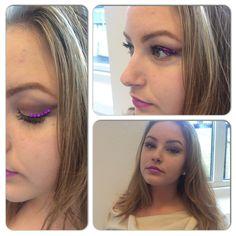 Fest och visnings makeup