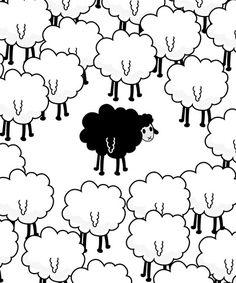 sheep drawing - Google 검색