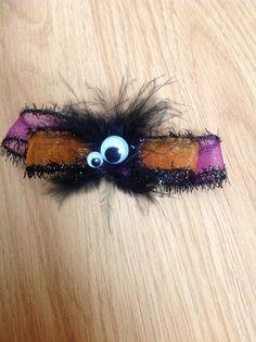 halloween hair clip /eye clip/ children hair by thelocalmermaid