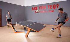 Teqball Combines Soccer and Ping Pong | Cool Material