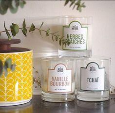 Everything close to hand - Tout à portée de main - Decoration inspiration - DIY - bougies la belle mèche