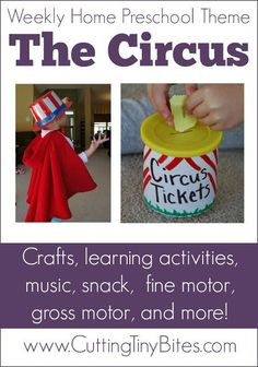 Circus Theme- Weekly