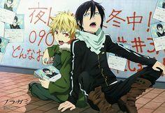 #Noragami Yato & Yukkiii ♡