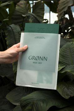 GRØNN Magazine Issue 2017 on Behance