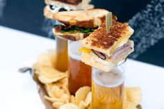 Grilled Cheese + Beer Pairings | Red Stamp