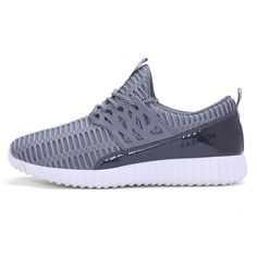TOP QUALITY LOW PRICE Men Running Shoes Sport Big Size Black/Gray Mesh Jogging Shoes For Men Summer/Autumn Sneakers Mens Athletic Trainers Male