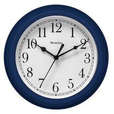 """Westclox 9"""" Simplicity Wall Clock"""