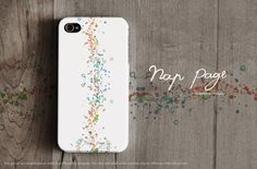 Apple iphone case for iphone iphone 3Gs iphone 4 iphone 4s iPhone 5 : Abstract colorful bokeh on white background