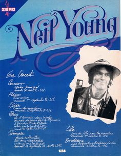 Neil Young French Tour 1982