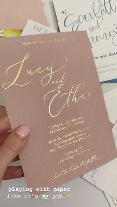 Blush Wedding Invitations, Wedding Invitation Samples, Wedding Stationary, Invitation Ideas, Sweet 16 Invitations, Beautiful Wedding Invitations, Wedding Invitation Design, Invitation Suite, Invites