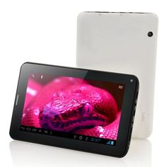 7 Inch Capacitive Touch Screen Android 4.0 ice cream sandwich budget GSM Phone Tablet PC with phone calling function...
