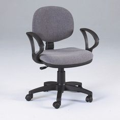 Arm rest office chair - Pin it :-) Follow us :-)) AzOfficechairs.com is your Office chair Gallery ;) CLICK IMAGE TWICE for Pricing and Info :) SEE A LARGER SELECTION of  arm rest office chair at http://azofficechairs.com/category/office-chair-categories/arm-rest-office-chair/ -  office, office chair, home office chair -  Martin Stanford Desk Height Seating in Gray « AZofficechairs.com
