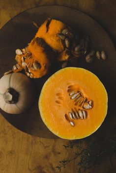 Pumpkin soup by Babes in Boyland – Meat Foods Pumpkin Vegetable, Pumpkin Soup, Cobbler Crust, Meat Recipes, Delish, Food Photography, Clean Eating, Foods, Fruit