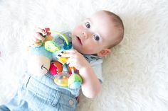 Playgro Brand Rep Easton and his Clip Clop Activity Rattle 😍