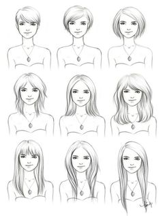 Growing out short hair guide! Will try...giving it two years this time before I go short again for good