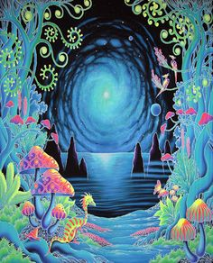 Psychedelic Ambient Trance Psychill: 25 Psychedelic Tapestries And Where To Buy Art Visionnaire, Psychedelic Tapestry, Psychedelic Space, Psy Art, Banner Backdrop, Visionary Art, Trippy, Oeuvre D'art, Wall Tapestry