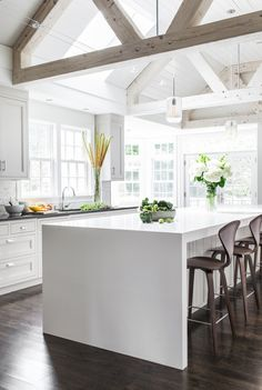 white kitchen | LDa Architecture and Interiors