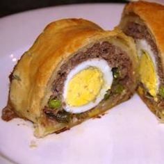 Mince and Egg Parcels
