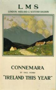 Irish Railway poster, Connemara Ireland by Paul Henry