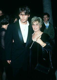 Johnny Depp & Mom Jan. 2013