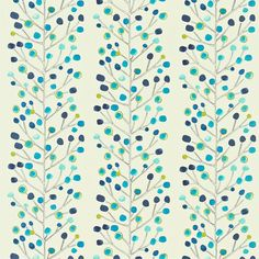 Scion - Designer Fabric and Wallcoverings | Berry Tree (NMEL120049) | Melinki One Fabrics