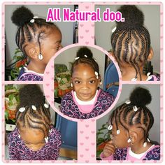 Hair We Go with.... Adrienne Curry.  Sweet lil Amari. Cutie Bootie