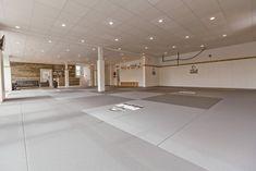 How often should you train jiu-jitsu? You should train jiu-jitsu as often as you can. Here is our guide to training jiu-jitsu often. Jiu Jitsu Mats, Jiu Jitsu Gym, Jiu Jitsu Training, Spartan Workout, Boxing Workout, Martial Arts Gym, Mma Gym, Easy Yoga Poses, Gym Design