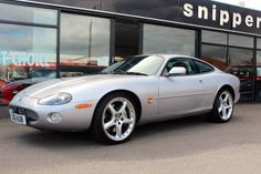 Used 2003 ( reg) Silver Jaguar XKR 4.2 400 2dr Auto for sale on RAC Cars
