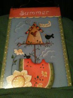 Summer sight board