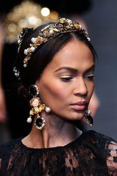 Dolce & Gabbana: Runway - Milan Fashion Week Womenswear Autumn/Winter 2012/2013