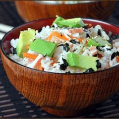 Slacker Sushi Bowls and an OXO Julienne Peeler Giveaway