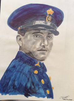 Suboficial de la Marina, época Alfonso XIII