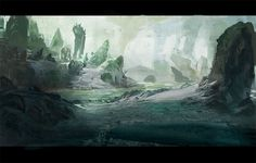 Concept Root - Concept Art from the Games and Movie Industries Art Gallery, Art Demo, Background, Art Painting, Photomontage, Art, Environmental Art, Matte Painting, Scenery
