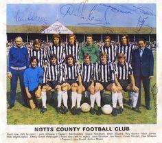 Notts County FC 1972