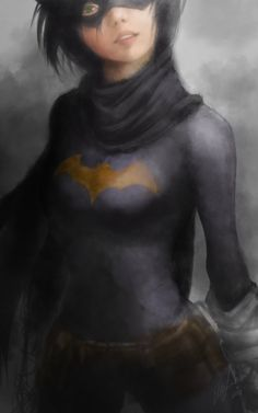 "imthenic: ""Cassandra Cain (Black Bat) by "" Tim Drake, Batman Comic Art, Marvel Dc Comics, Batgirl, Supergirl, Detective, Cassandra Cain, Best Superhero, Black Bat"