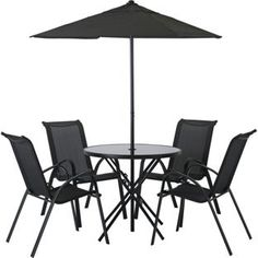 Buy Sicily 4 Seater Patio Set at Argos.co.uk, visit Argos.co.uk to shop online for Garden table and chair sets