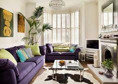 green eggplant simple living room - Google-haku