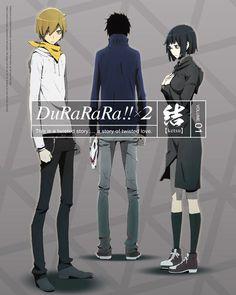 Kida, Mikado, & Anri   Durarara!!