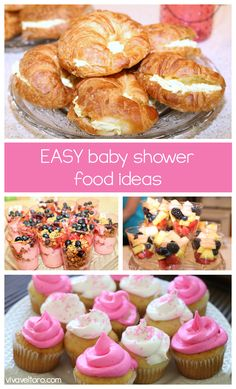 EASY baby shower food ideas!