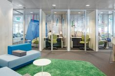 Unilevers European Brand Hub  #office: office space, office design, office interiors