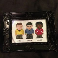 Star Trek Cross Stitch Little Red Stitches