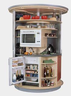 In Room MicrowaveRefrigeratorCabinet Combo