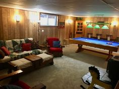 Cottage Vacation Rental - Wraight Escape - Lots of room to relax in the recroom!