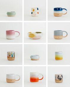 "Willowvane on Instagram: ""Samples / Seconds Available online now!"" Ceramic Mugs, Objects, Tableware, Glass, Illustration, Pottery Ideas, Instagram, Dinner Ideas, Design"