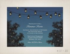 Hey, I found this really awesome Etsy listing at http://www.etsy.com/listing/107366987/evening-party-invitation-lantern-string