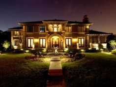 Add Depth to Exterior Lighting. Balance is important when you're lighting a home's exterior. Lighting only the house can look unnatural — even bleak — but uplit trees and statuary add depth and softness.